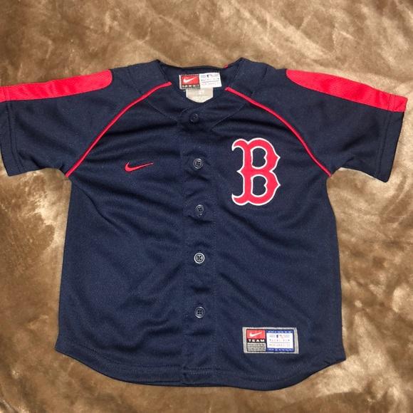 9be54ee27 Nike Shirts & Tops | Boston Red Sox Toddler Jersey | Poshmark
